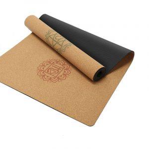 Sunbear Sport cork rubber yoga mat, nonslip lightweight exercise mat, Linen rubber yoga mat manufacturer in China, yoga mat wholesale & dropshipping