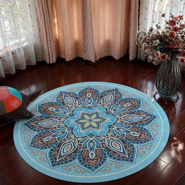 round large rubber meditation mat, Linen rubber yoga mat manufacturer in China, yoga mat wholesale & dropshipping