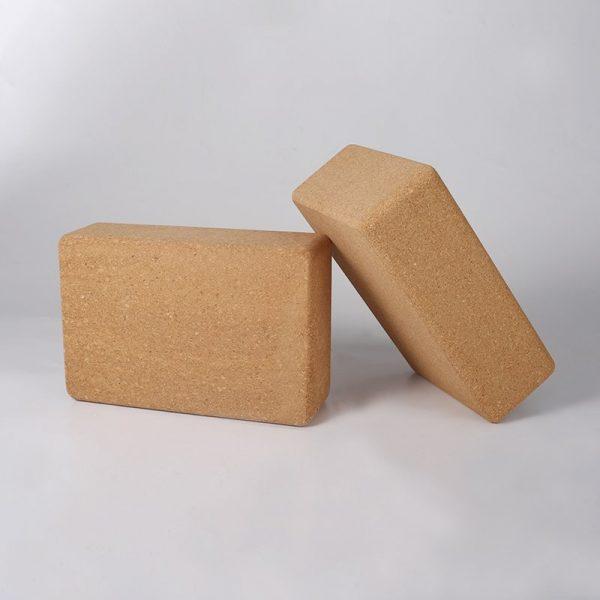 cork yoga block, block of cork