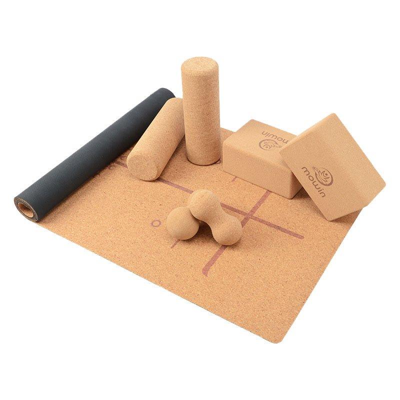 Sustainble cork yoga mat