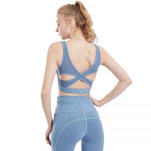 Sunbear Sport Sports Bra, spotswear drop shipping, blue