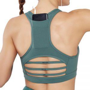 Sunbear Sport Sports Bra, spotswear drop shipping, back pockets
