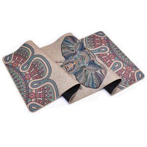 Sunbear Sport Linen Rubber Yoga Mat, Linen rubber yoga mat manufacturer in China, yoga mat wholesale & dropshipping