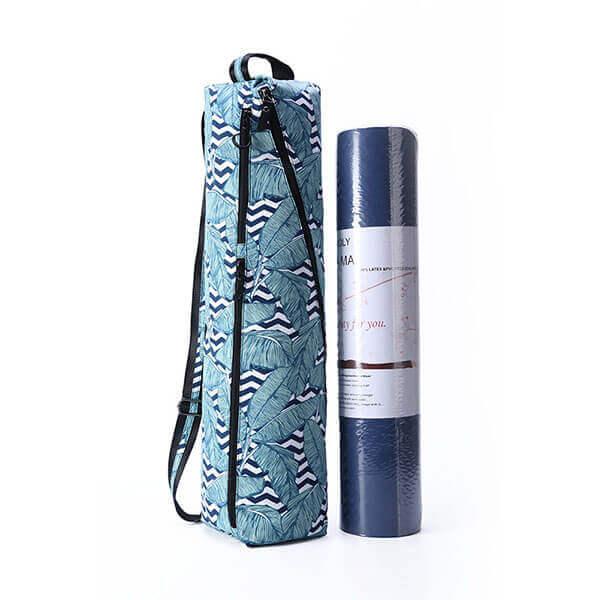 lulu, waterproof shoulder strap carrying sports yoga bag
