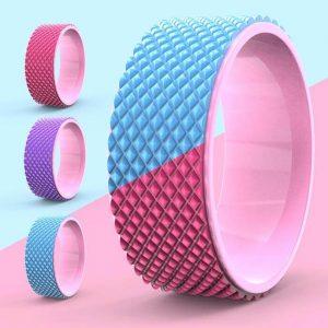 3D massage yoga wheel, provding by Sunbear Sport